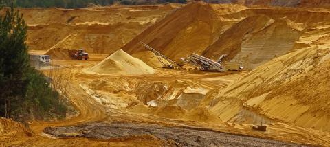 """Песчаный карьер """"Коллонтай"""": Коэффициент фильтрации песка"""